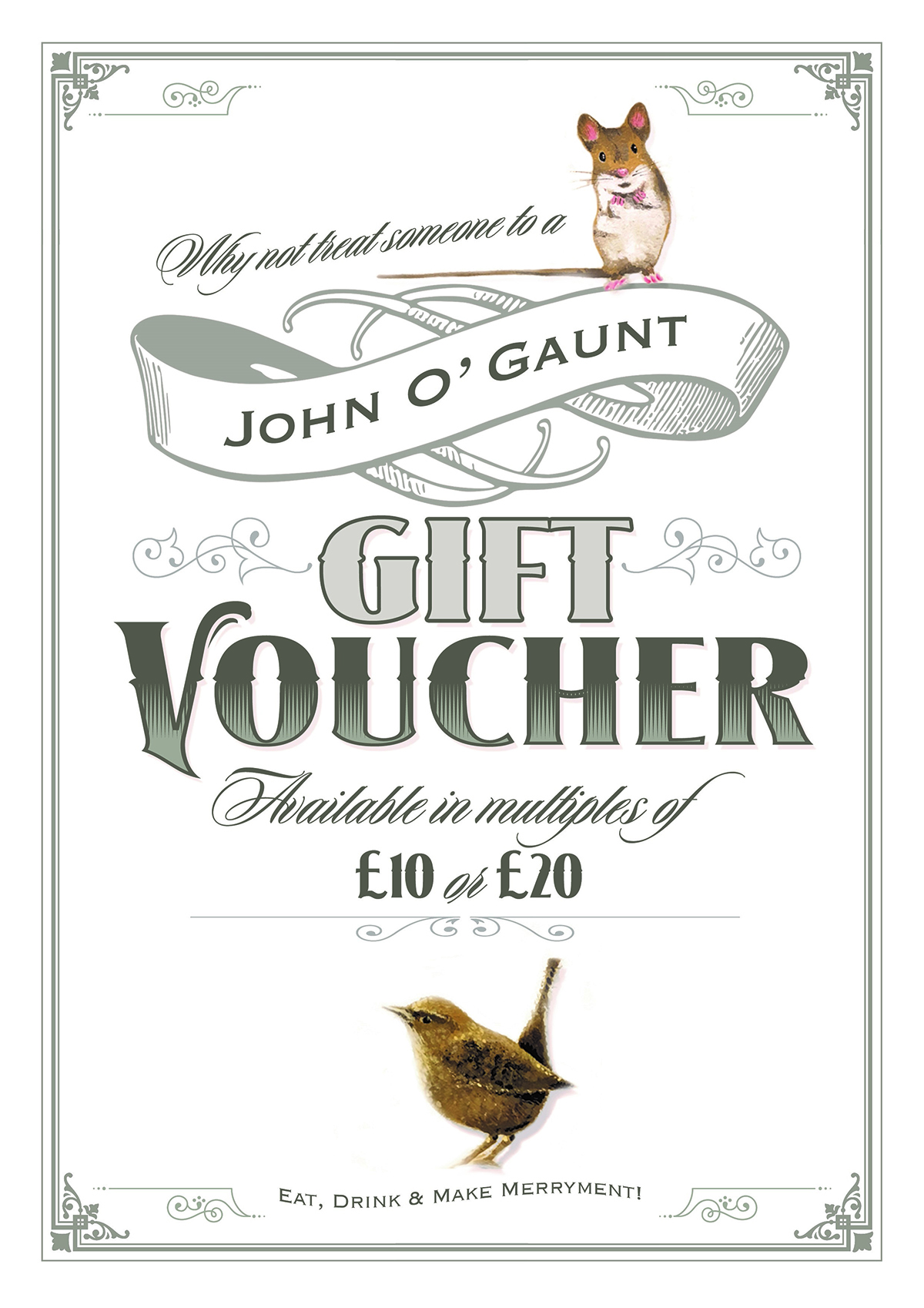 Food And Drink Voucher O
